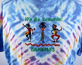 We Be Jammin' - Tie Dye Bahamas T-Shirt
