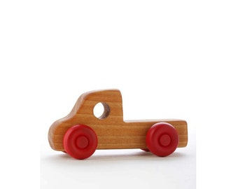 Wooden Toy Truck- Pick Up