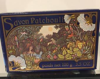 """Vintage Crabtree & Evelyn  """"Patchouli"""" 3.5 oz Bar Soap Vintage  NIB RARE Hard to Find RETIRED"""