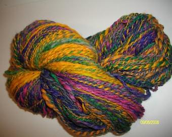 Merino hand spun yarn