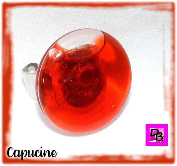Bague globe [Capucine]