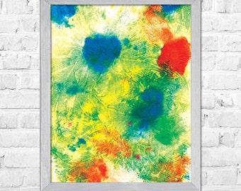 Wall art print, Watercolor painting, Abstract art, Abstract painting, Watercolor poster, Home decor, Abstract Watercolor Painting