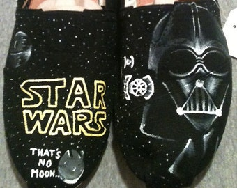Hand Painted TOMS - Star Wars