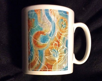 Mug with original design