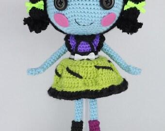 PATTERN: Scraps Crochet Amigurumi Doll