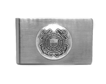 Coast Guard Money Clip – Metallic