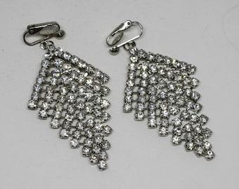 Stunning crystal earrings