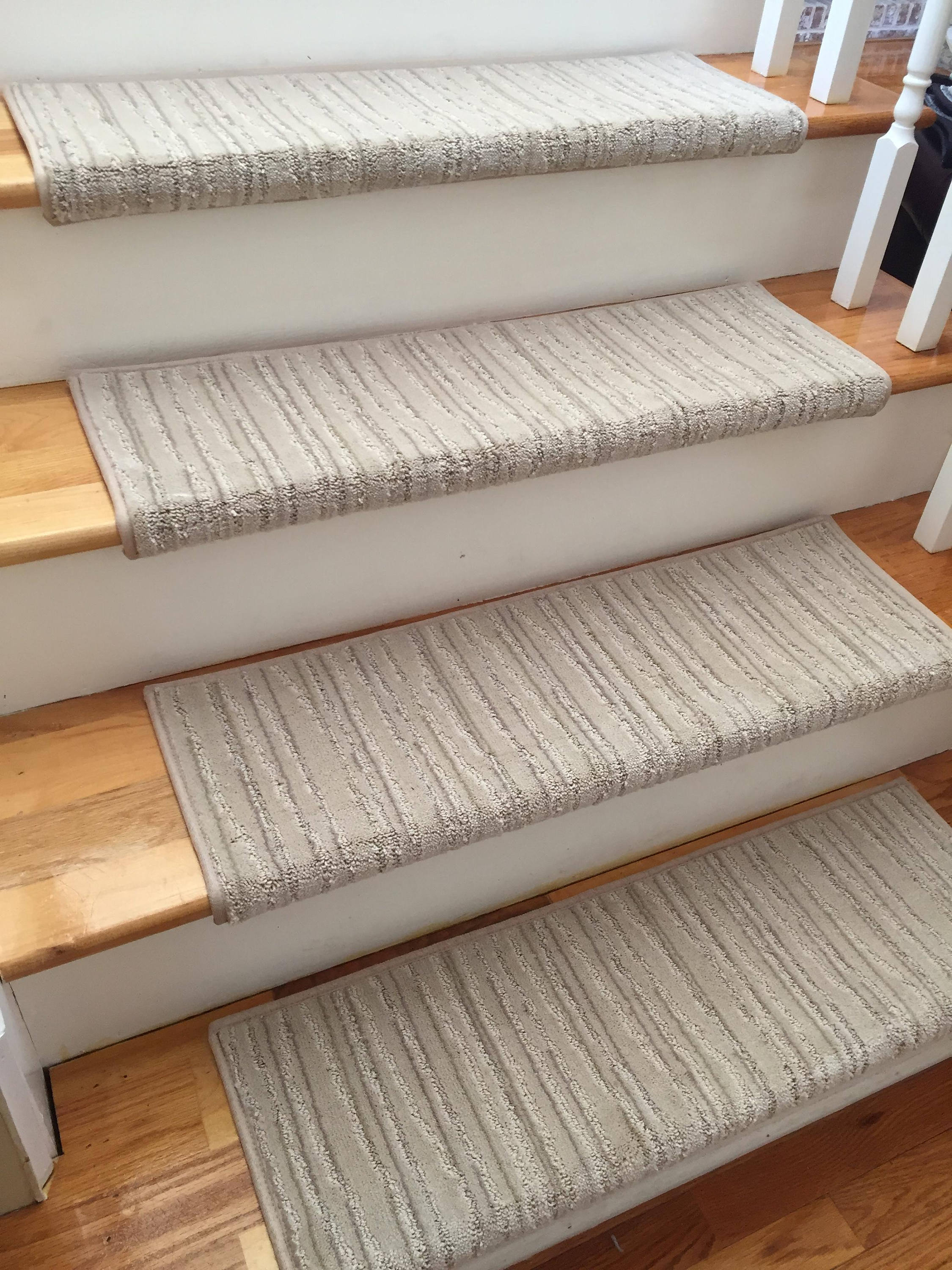 Linea Engrave True Bullnose™ Carpet Stair Tread   For Safety Comfort Dog  Cat Pet (Sold Each)