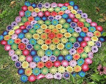 pattern for flower blanket