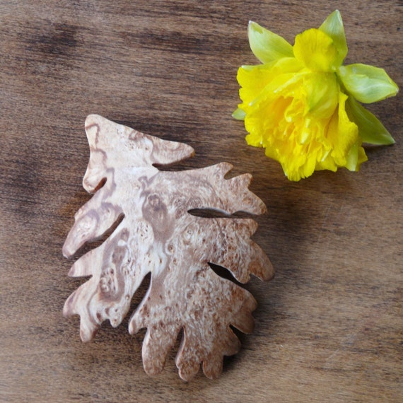 Oak leaf Hair Clip, 80mm French Clasp **bohemian, boho, bridesmaid,hair clip,hair pin,barrette,gift for her,gift for mom,gift for women,OOAK