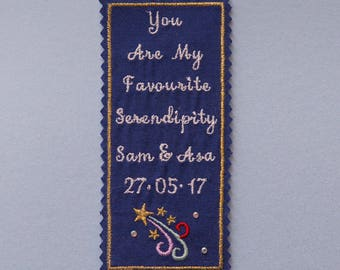 beautiful embroidered tie patch