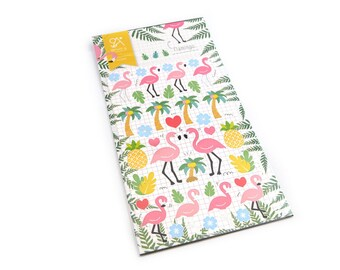 Pink Flamingo stickers Board