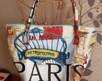 """Paris"" inspired Longchamps bag"
