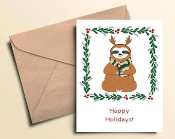 Happy Holidays To You & Yours Holiday Cards