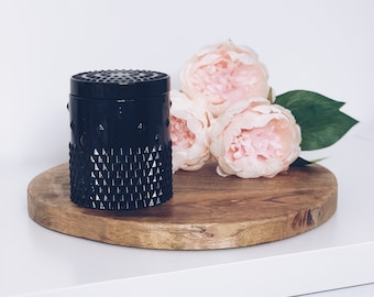 Black Rockstud Scented Soy Wax Wood Wick Candle