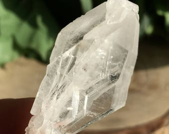 Set of 3! Gorgeous Faden Quartz Crystals Set !