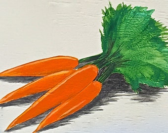 Carrots Painting