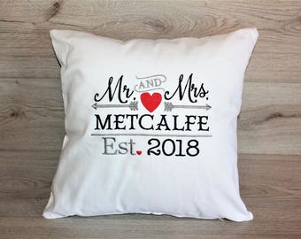 Image is loading PERSONALISED-Embroidered-Cushion-Cover -Clarke-amp-Clarke-Fifi-