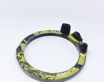 BANGLE for drawing resin & charcoal