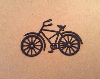 Bicycle (3) paper die cut