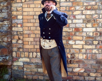 Custom made- Tailcoat and Sweeny Todd Waistcoat