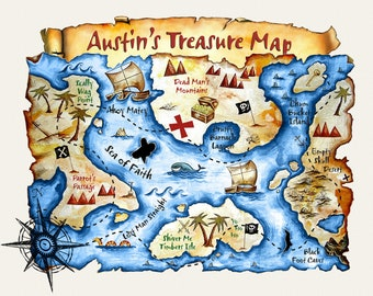 Customized Treasure Map