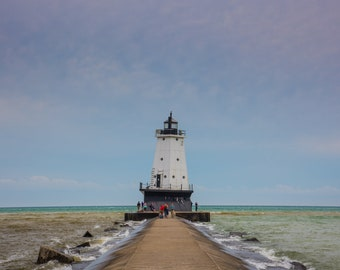 Ludington North Breakwater Light - Lake Michigan
