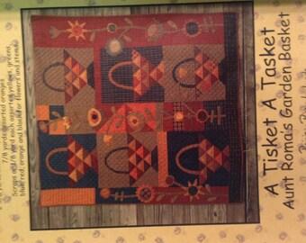 A Tisket A Tasket quilt pattern by Primitive Pieces