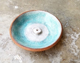 Turquoise Incense Holder