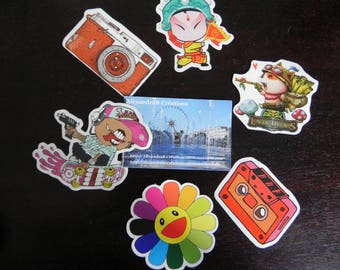 MELI MELO of 6 stickers