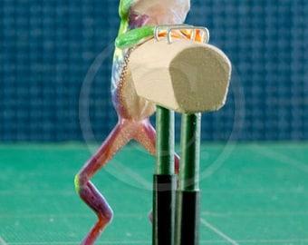 Pommel Horse, Gymnastics Art, Tree Frog