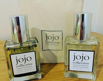 Indigo perfume oil