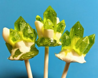 Coconut Lime Crystal Pop!