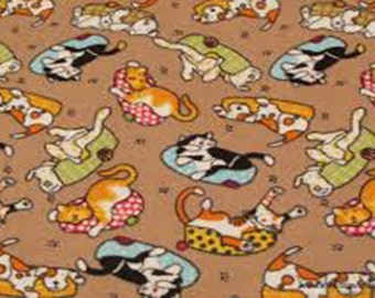 Flannel by the Yard – Cozy Pets 100% Cotton Flannel