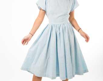 Blue Doll Dress
