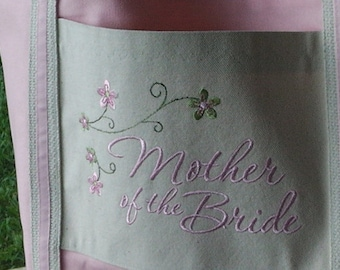 Personalized Tote Bag for Mother of Bride Mother of the Groom Wedding, Bride, Free Shipping