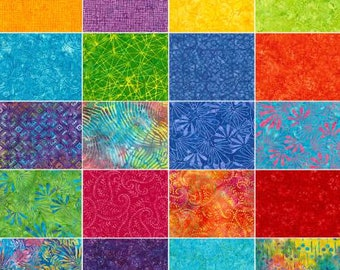 Tonga Batiks Zing 6 inch strips by Timeless Treasures