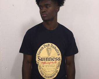 Vtg Guinness 1990's Beer Shirt