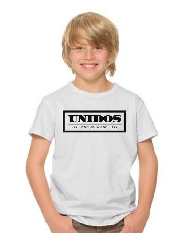 Boyt-shirt or body UNIDOS por el AMOR
