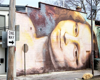 Mona, Columbus Ohio, Street Art, Fine Art, Fine Art Photography, Fine Art Print