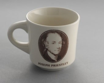 Promotional Chemistry Mug Joseph Priestly Scott Specialty Gases Dephlogisticated Air Oxygen