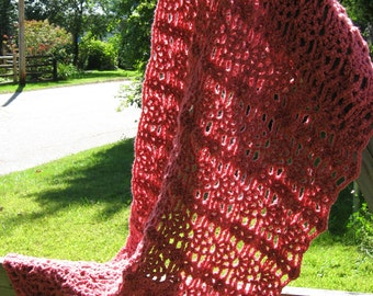 Summer Rose Wrap Crochet Pattern