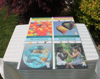 Set of Four Time Life Books - A Childs First Library of Learning