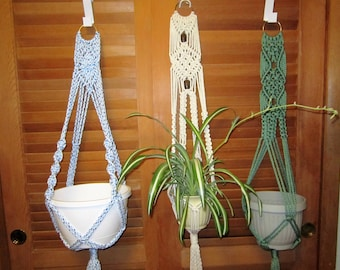 macrame plant hangers, macrame, wall hangings, jute