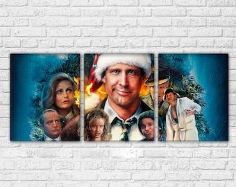 Christmas Vacation 3 Piece Canvas Set