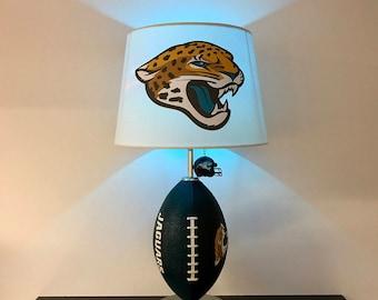 Jacksonville Jaguars Football Lamp, NFL, Man Cave, Sports Lamp, Kids Night  Light