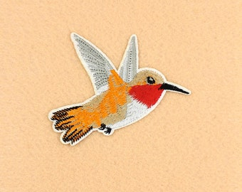 Bird Patch Iron on Patch DIY Patch Embroidered Patch Applique Embroidery 8.7x6.6cm