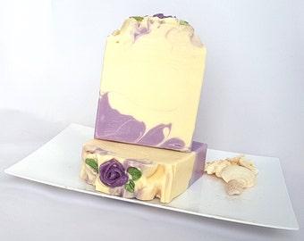 Anna - Handmade Soap, All Natural Soap, Cold Process Soap, Artisan Soap