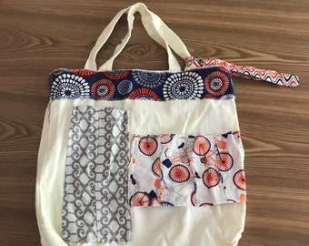 "canvas and appliqué ""rag bag"" toye"