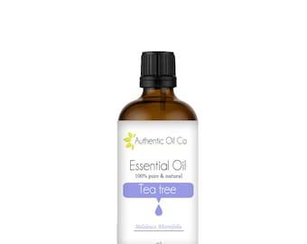 Tea Tree Essential Oil 100% Pure 10ml 50ml 100ml 250ml 500ml 1 litre
